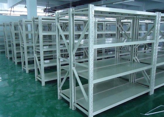 Warehouse Steel Storage Shelves , Adjustable Pallet Storage Racks