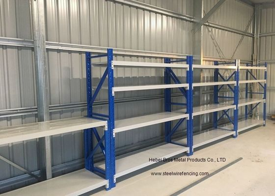 Four Layers Middle Duty Garage Heavy Duty Shelving Adjustable Storage Shelves