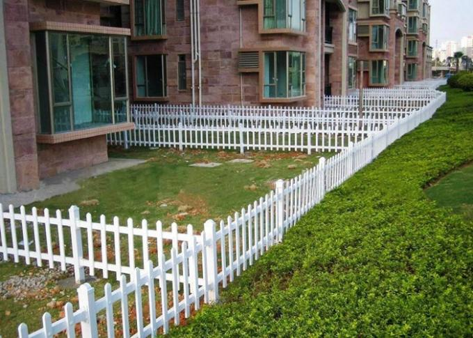 PVC Coated Welded Zinc Steel Fence For Community / Gardens Protection