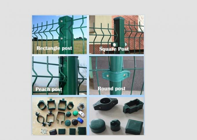 Metal Welded Mesh Security Fencing Galvanized Wire For Railway / Road