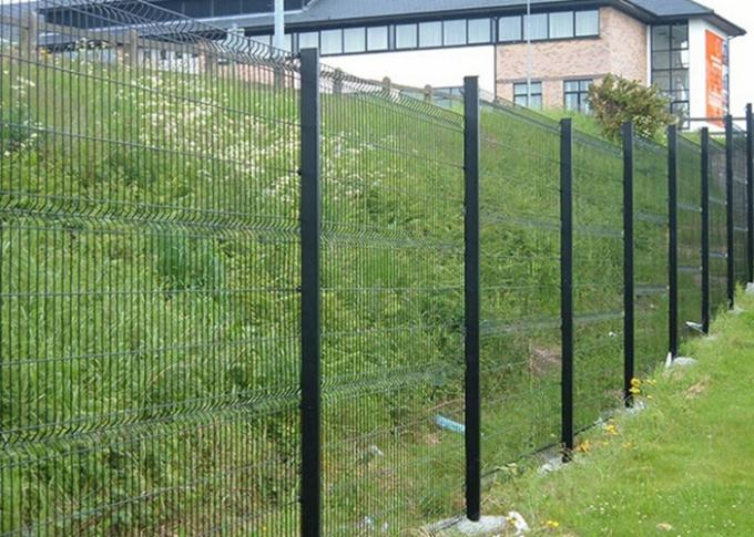 PVC Coated Welded Wire Mesh Panels For Area Protection , Eco Friendly