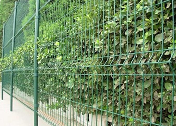 Bending Barrier Wire Fence / Park Fence Barricade / Fence With Triangle Bends