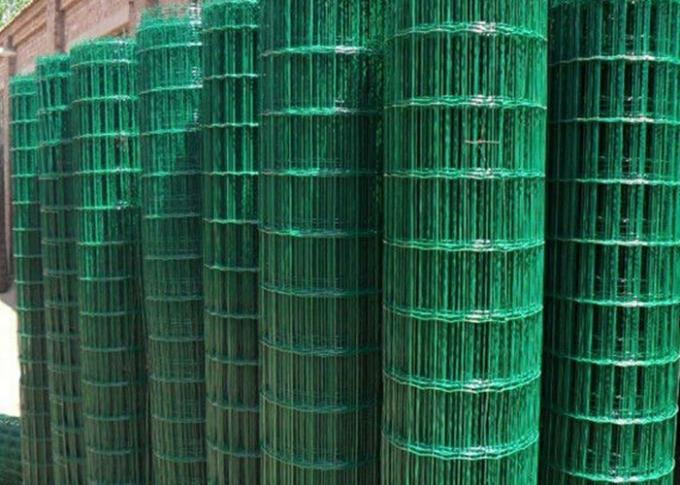 Low Carbon Powder Coated Steel Wire Fencing 2-6.0mm Dia With Euro Style