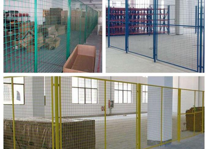 Indoor Warehouse Safety Fences Security Steel Fencing 1