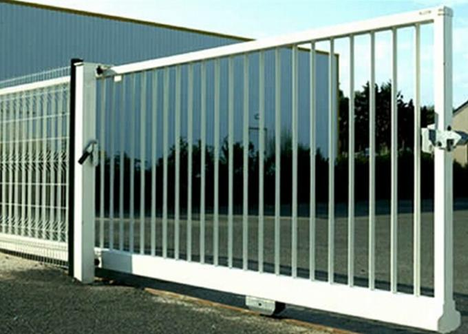 Industry Zone Spear Top Electric Sliding Gates For Driveways , High Levels Security