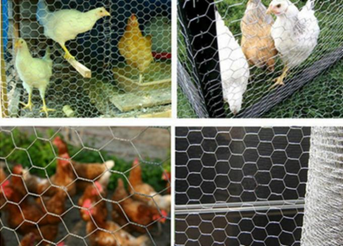 Hexagonal Wire Gabion Mesh Cages Safety For Building / Construction