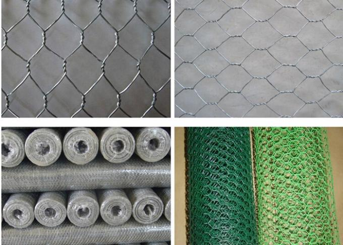 Multi Function Gabion Fence Panels , Welded Gabion Basket Stone For River Mattress
