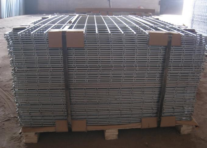 Professional Welded Wire Mesh Panels Sheet Square Hole For District / Building