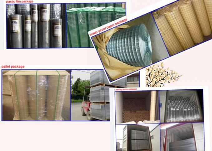 Hot Dipped Galvanized Welded Wire Mesh Panel Oxidation Resistance