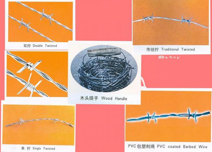 Anti Theft Electro Barbed Wire Mesh Fence Coil With 7.5-15cm Spacing