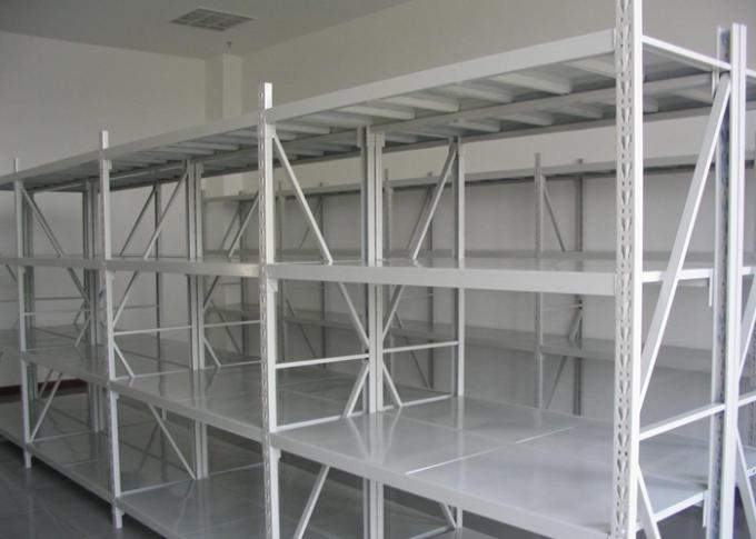 Pallet Steel Storage Shelves / Light Duty Double Deep Pallet Racking