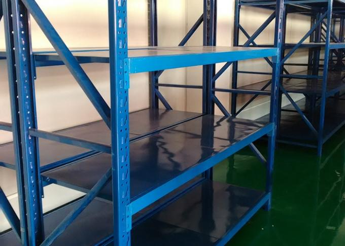 Powder Coated Work Choice 4 Shelf Metal Storage Racks Heavy Duty