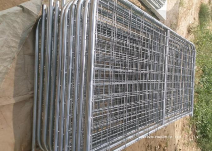 Welded Farm Mesh Fencing Filled Tube Galvanized 12 Foot Farm Gate Durable