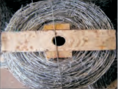 alibaba supplier barbed fencing wire electro galvanized barbed wire for sale