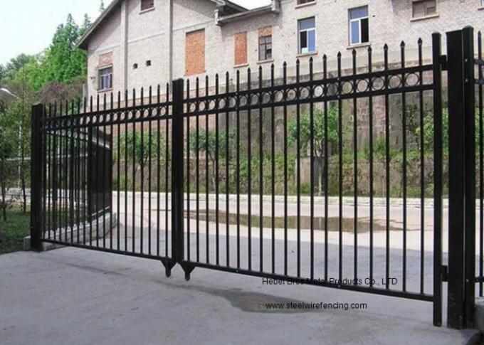 Horizontal Automatic Driveway Gates Corrosion Resistance For Community