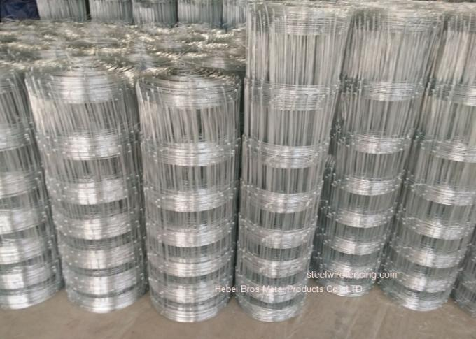 High Tensile Gal Cattle Wire Fence Stock Fencing For National Parks