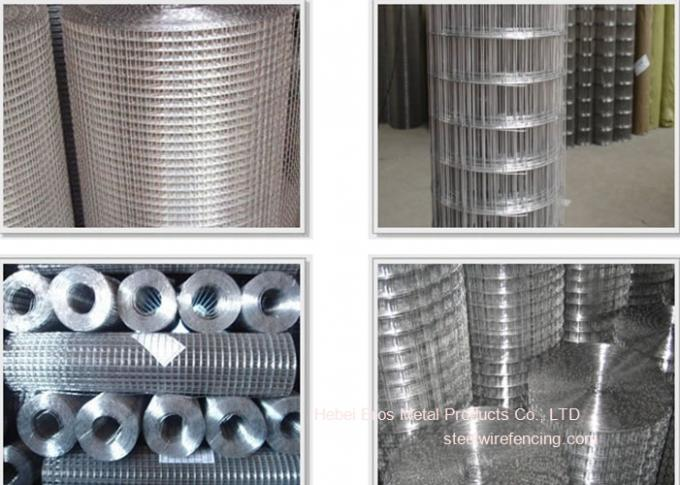 304 3/4 Stainless Steel Welded Wire Mesh For Construction , Anti ...